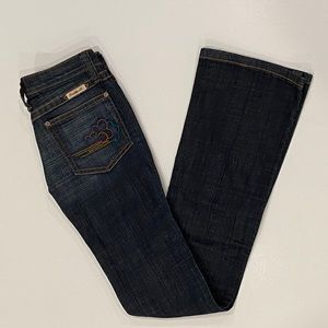 Frankie B. Above the Clouds Low Rise Jeans